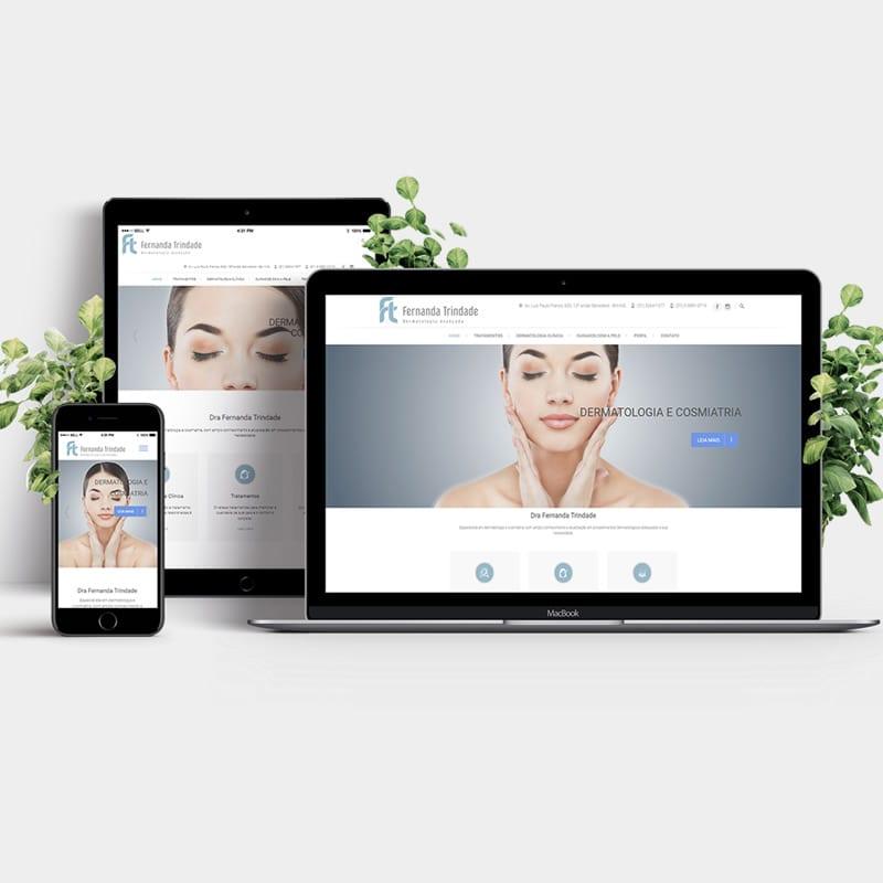 Agência de Marketing em BH | Serviço de Criação de Sites Responsivos, Landing Pages e de Lojas E-commerce - Dra. Fernanda Trindade.