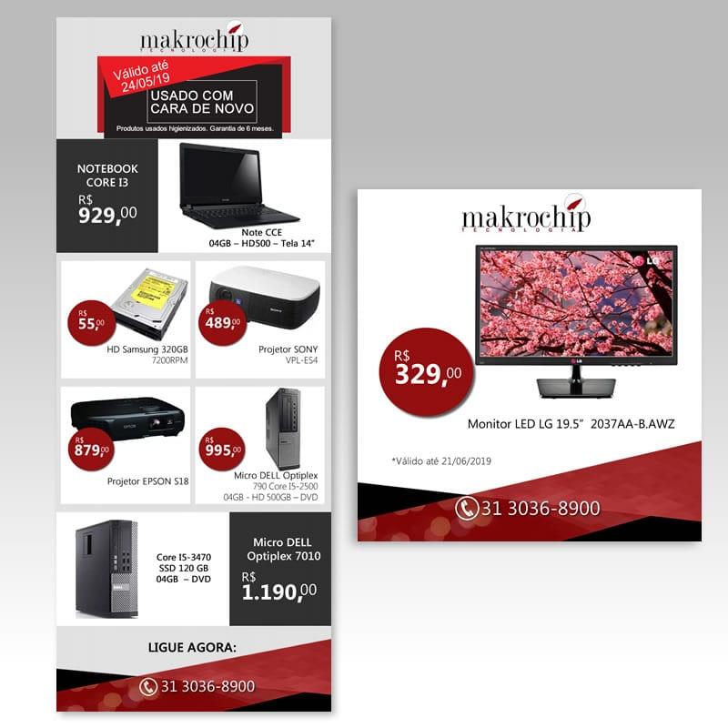 Agência de Marketing em BH | Serviço de E-Marketing / Newsletter - Makrochip.