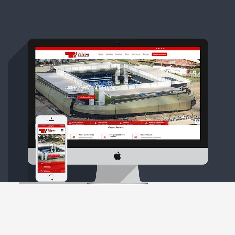 Agência de Marketing em BH | Serviço de Criação de Sites Responsivos, Landing Pages e de Lojas E-commerce - Teicon