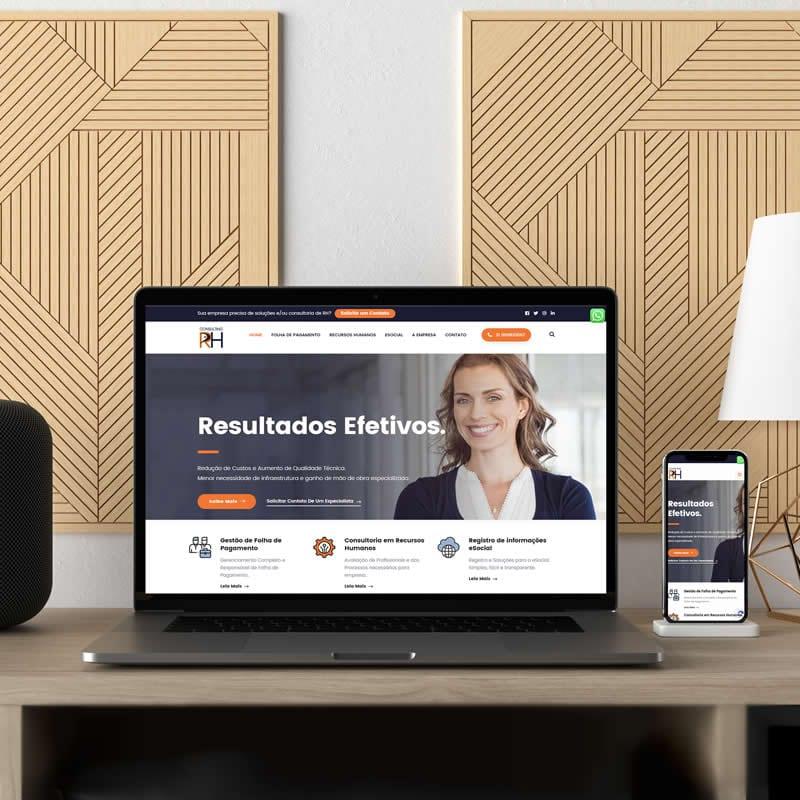Agência de Marketing em BH | Serviço de Criação de Sites Responsivos, Landing Pages e de Lojas E-commerce - Consulting Recursos Humanos