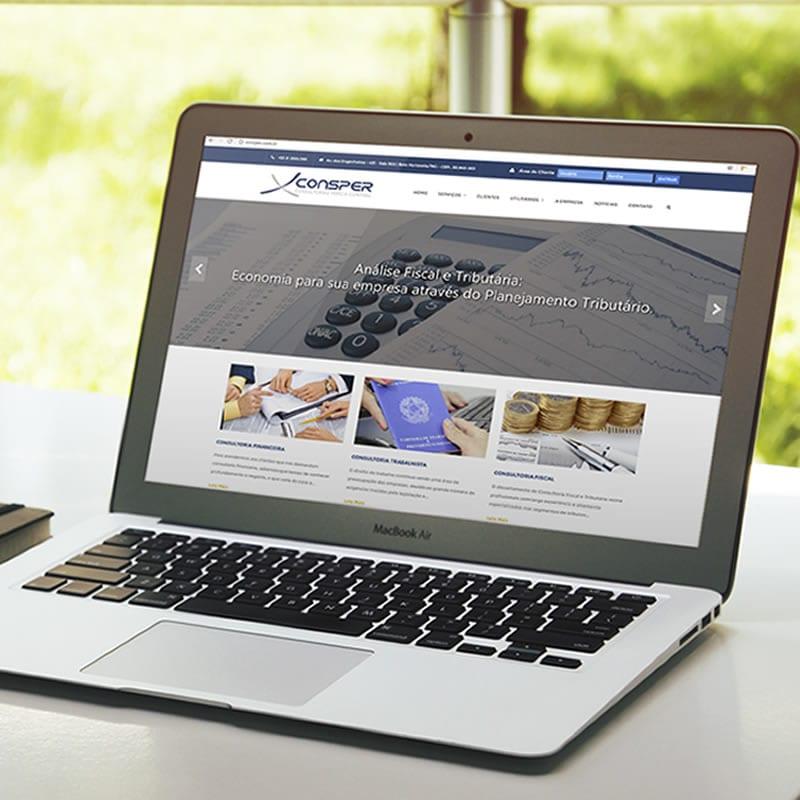 Agência de Marketing em BH | Serviço de Criação de Sites Responsivos, Landing Pages e de Lojas E-commerce - Consper