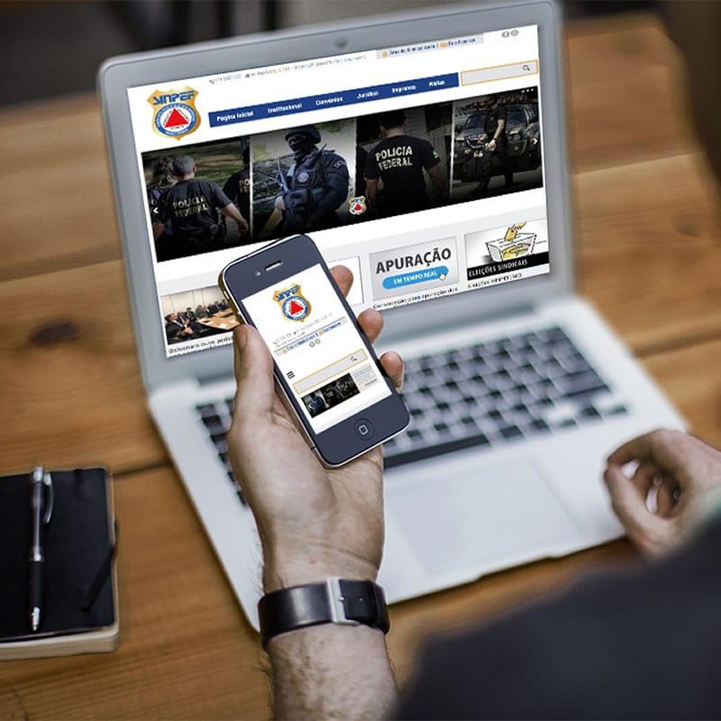 Agência de Marketing em BH | Serviço de Criação de Sites Responsivos, Landing Pages e de Lojas E-commerce - SINPEF MG