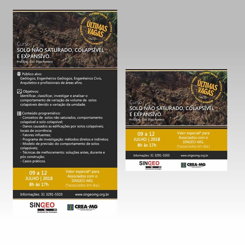 Agência de Marketing em BH | Serviço de E-Marketing / Newsletter - IBHC - SINGEO - Sindicato dos Geólogos do Estado de Minas Gerais.