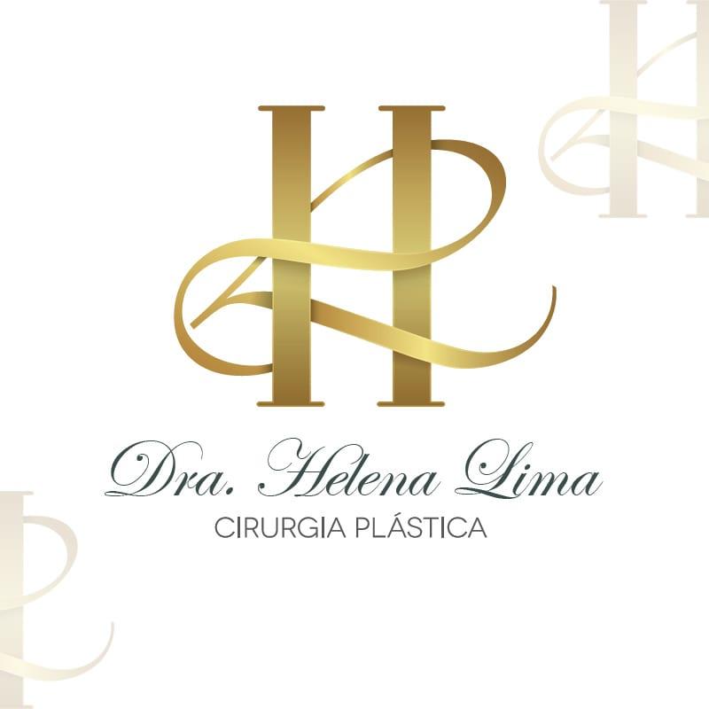 Agência de Comunicação Visual em BH | Serviço de Criação de Logomarca - Dra. Helena Lima
